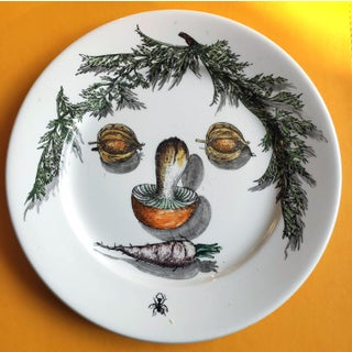 Piero Fornasetti Arcimboldo Vegetali Plates- a Set of Three. Preview