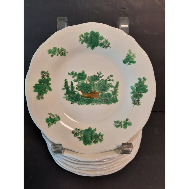 1970s Spode Copelands China Dessert Plates, Set of 8 For Sale - Image 5 of 5