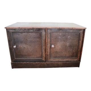 Victorian Steel Ledger Cabinet For Sale
