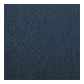 Herringbone Danish Blue Fabric, Multiple Yardage