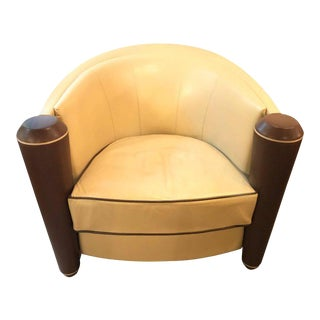 i4 Mariani Marnie Tub Chair by Adam Tihany for Pace Collection For Sale