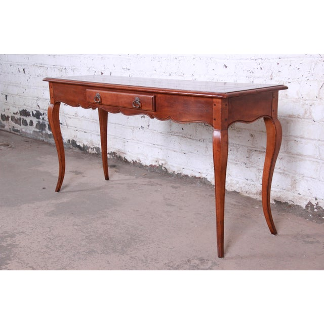 Swell Henredon French Country Louis Xv Style Console Table Ibusinesslaw Wood Chair Design Ideas Ibusinesslaworg