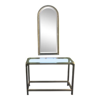 Mastercraft Brass Vanity Table For Sale