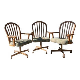 Chromcraft Office or Dining Chairs - Set of 3