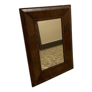 Vintage Mahogany Wall Mirror For Sale