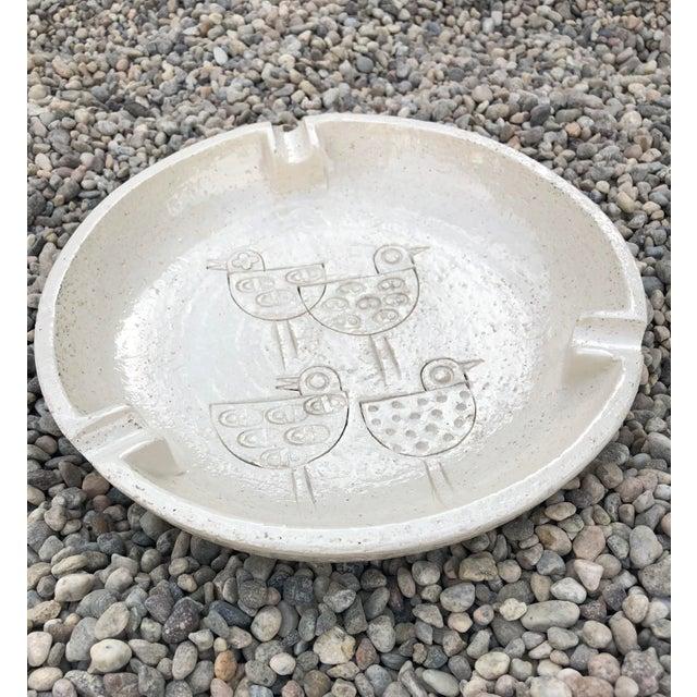 Vintage Mid-Century Modern Italian Ceramic Ashtray by Aldo Londi-Bitossi For Sale - Image 12 of 13