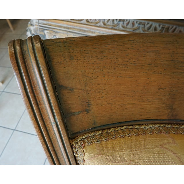 Hand-Carved European Accent Chairs - a Pair - Image 8 of 9