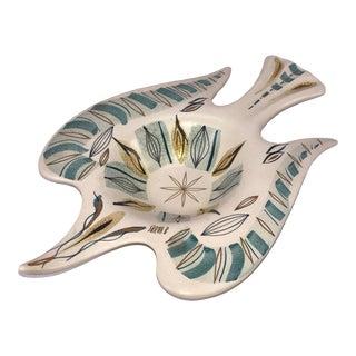 Sascha Brastoff California Pottery Bird Dish Bowl For Sale