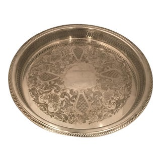 Large F.B.Rogers Silverplate Serving Tray
