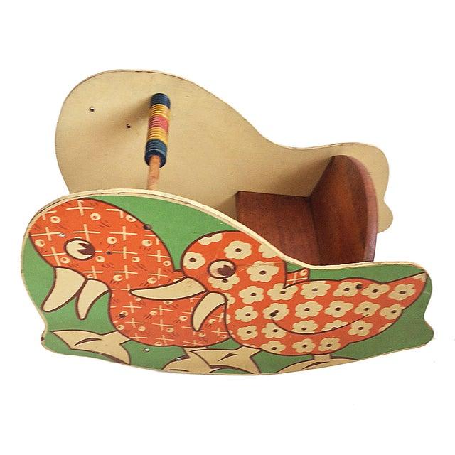 Vintage Children's Rocking Duck - Image 5 of 5