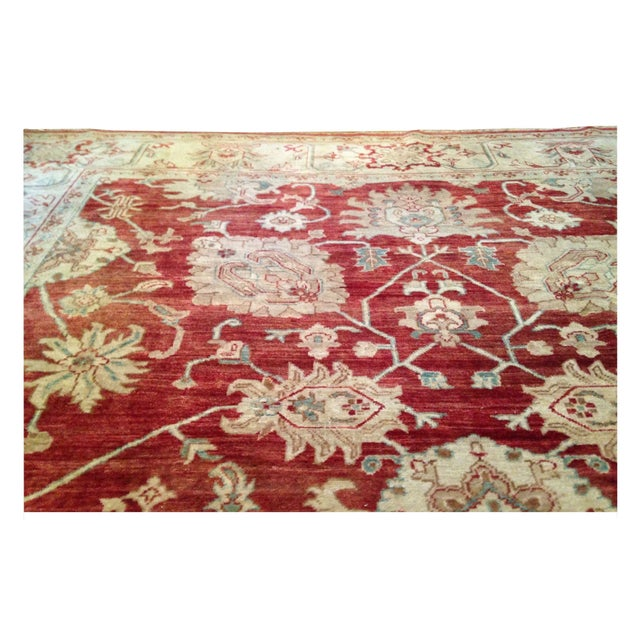 This is an 8' x 10' beautiful handmade oriental rug that was purchased from the San Francisco Design Center. The seller...