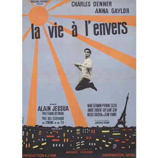 Life Upside Down 1964 French Moyenne Film Poster For Sale