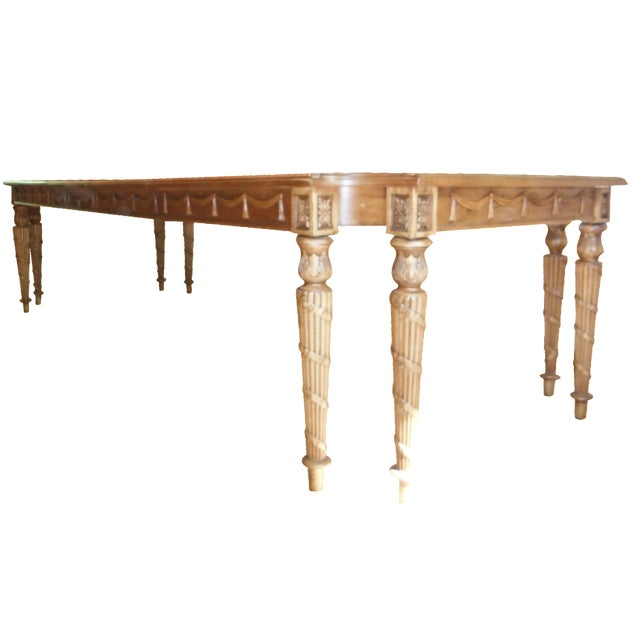 Century Furniture Traditional Carved Dining Table - Image 1 of 7