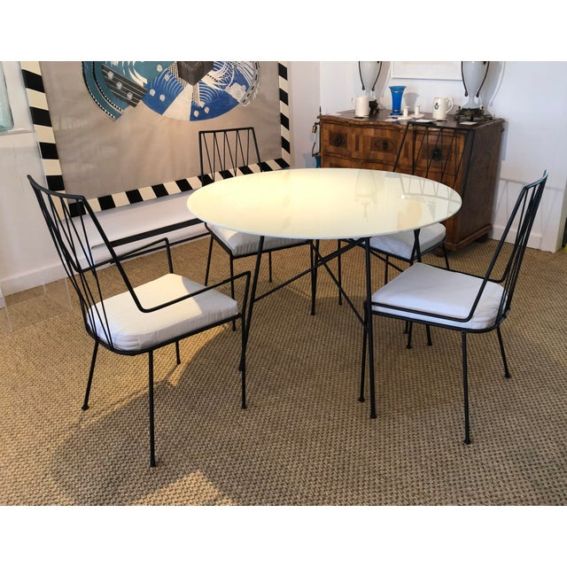 1950s Paul McCobb Pavilion Collection Table and 4 Chairs For Sale - Image 5 of 12