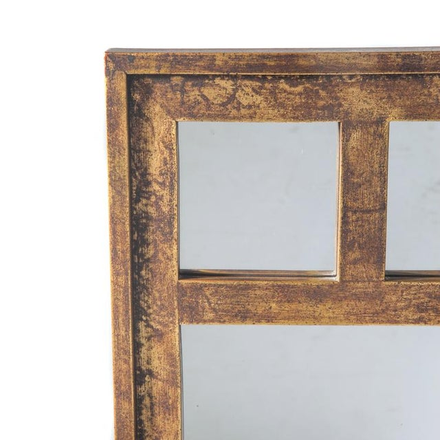 Modern ASSYMETRICAL MIRROR BY LA BARGE For Sale - Image 3 of 3