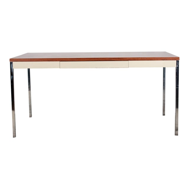 Steelcase Modern Minimalist Writing Desk - Image 1 of 9