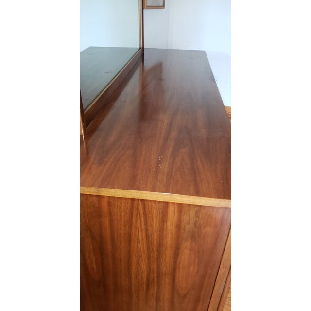 1960s Mid-Century Modern Walnut Credenza For Sale - Image 6 of 9