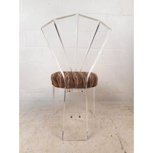 Mid-Century Modern Lucite Dining Set For Sale - Image 9 of 13