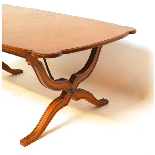 Spanish Trestle Dining Table - Image 3 of 6