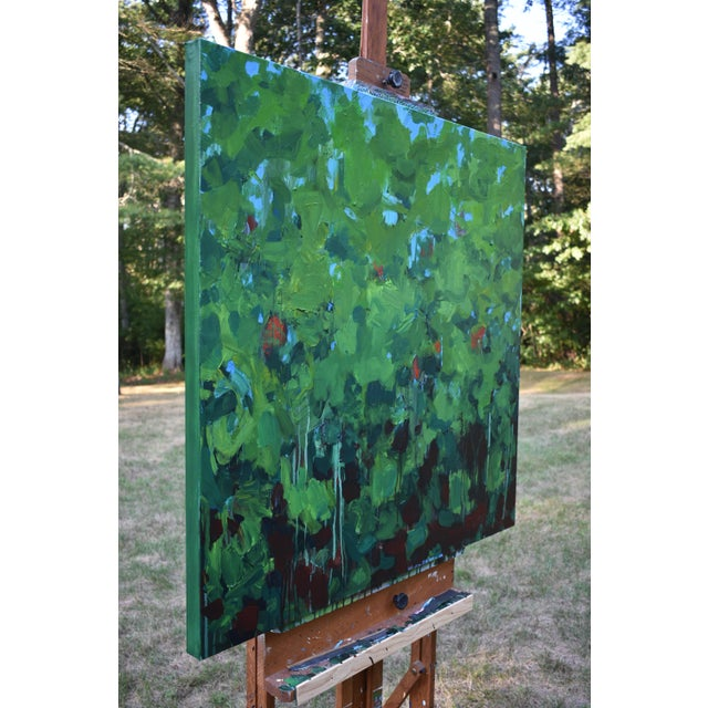 Green Lush Garden by Stephen Remick For Sale - Image 8 of 12