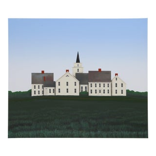 """Ted Jeremenko, """"On the Hill"""", Landscape Print For Sale"""