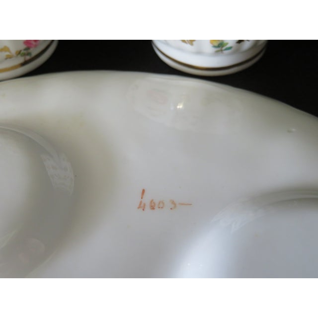 Early 19th Century Vintage Antique Spode Copeland Stoke-Upon-Trent England Tiffany and Co. Company Tea Set For Sale - Image 5 of 7