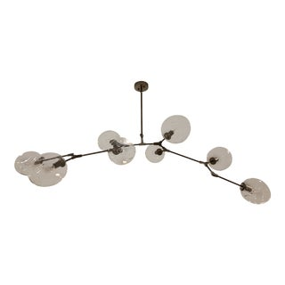 Globe Glass Lights Modern Minimalist Design Chandelier For Sale