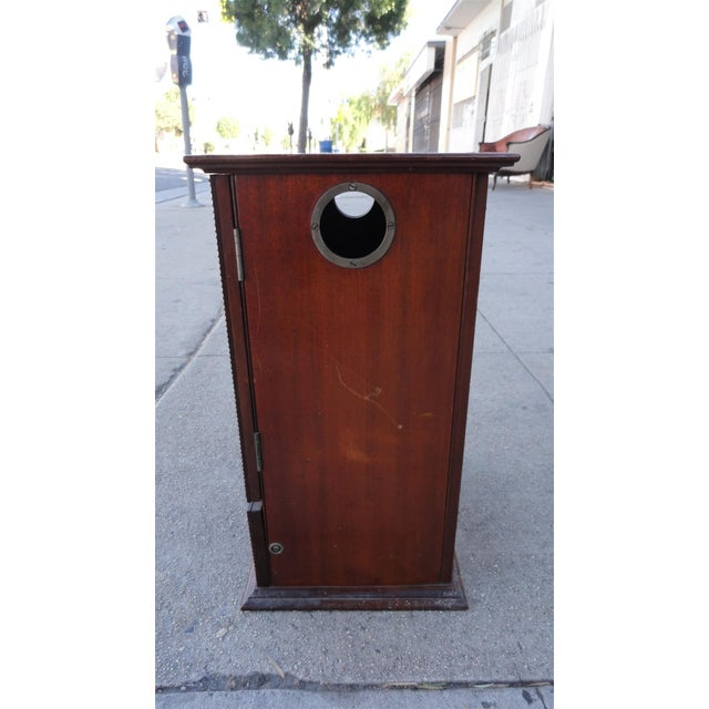 Gecophone Solid Mahogany Small Cabinet - Image 8 of 8
