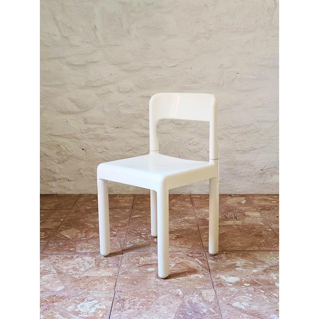 1960s Vintage C. Haunter Elco Dining Chair For Sale - Image 6 of 6
