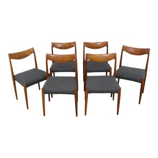 Gustav Bahus Bambi Dining Chairs - Set of 6 For Sale