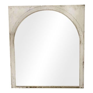 "20th Century Arched Glass Sash Window - 63x56.5"" For Sale"