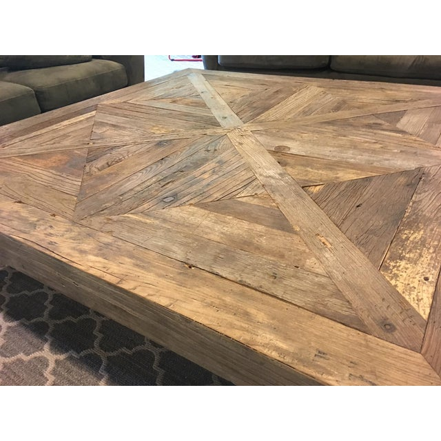 Restoration Hardware Reclaimed Wood Coffee Table Chairish