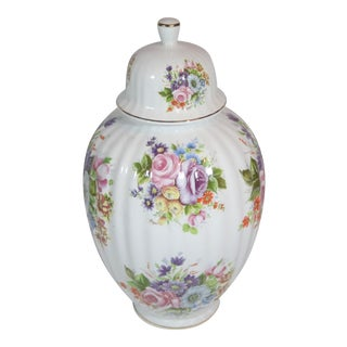 Italian Hand-Painted Ginger Jar