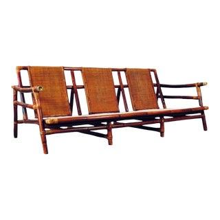 John B. Wisner for Ficks Reed Sofa For Sale