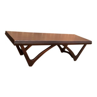 Mid-Century Modern Sculptural Coffee Table / Bench Manner of Adrian Pearsall For Sale