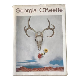 First Edition 1976 Large Hardcover Studio Book by Georgia O'Keeffe