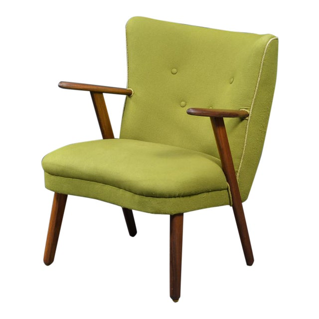 Danish Mid-Century Easy Chair in the Style of Madsen and Schubel - Image 1 of 9