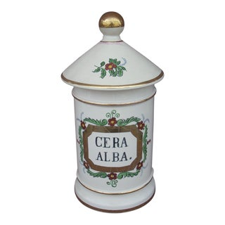 Mid 19th Century Antique Pharmacy Jar For Sale