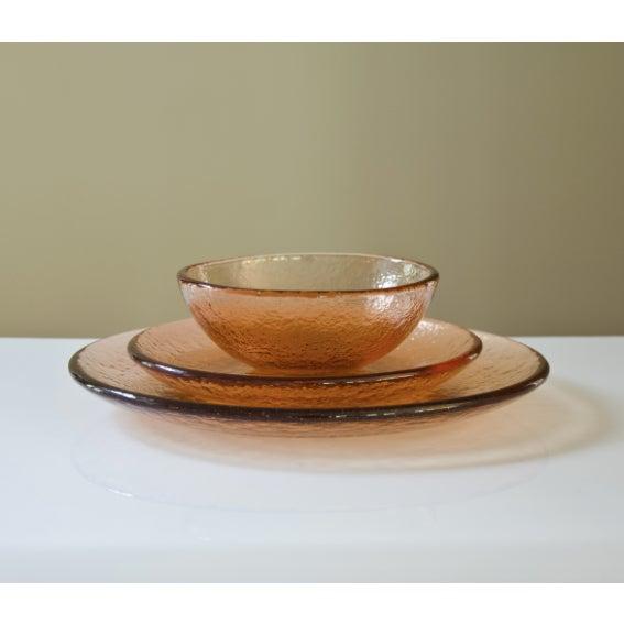 Copper Fire & Light Salad Bowl - Image 2 of 4
