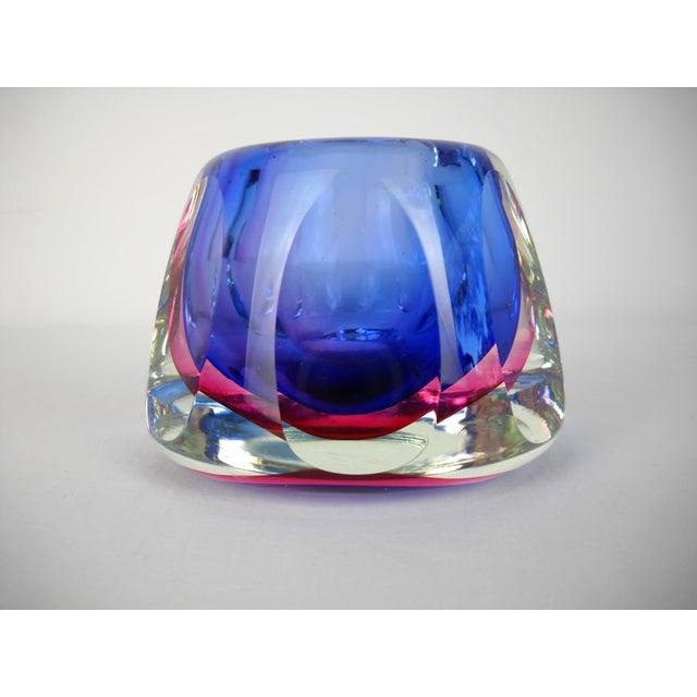 Flavio Poli Faceted Murano Glass Vase For Sale In Orlando - Image 6 of 10