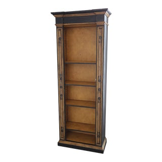 19th C. Style Hand-Painted Bookcase For Sale