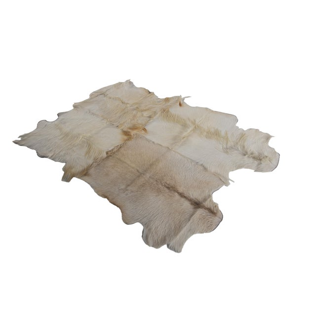 "Aydin Goatskin Patchwork Accent Area Rug - 4'7"" x 7'3"" - Image 2 of 8"