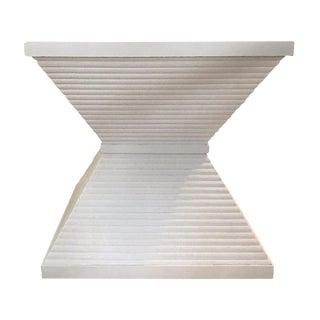 Modern Ziggurat Side Table