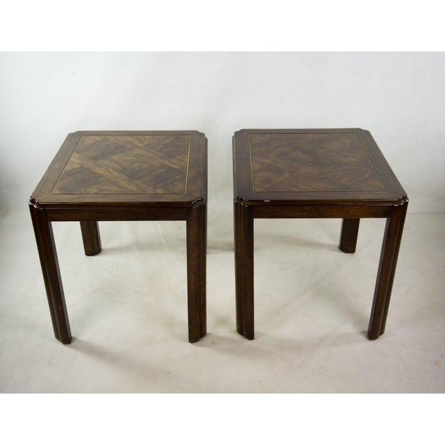 These are just nice solid wood side tables that could fit many looks or designs with their clean lines and simple styling....