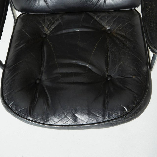 Black Time Life Executive Office Chair by Charles Eames For Sale - Image 8 of 9