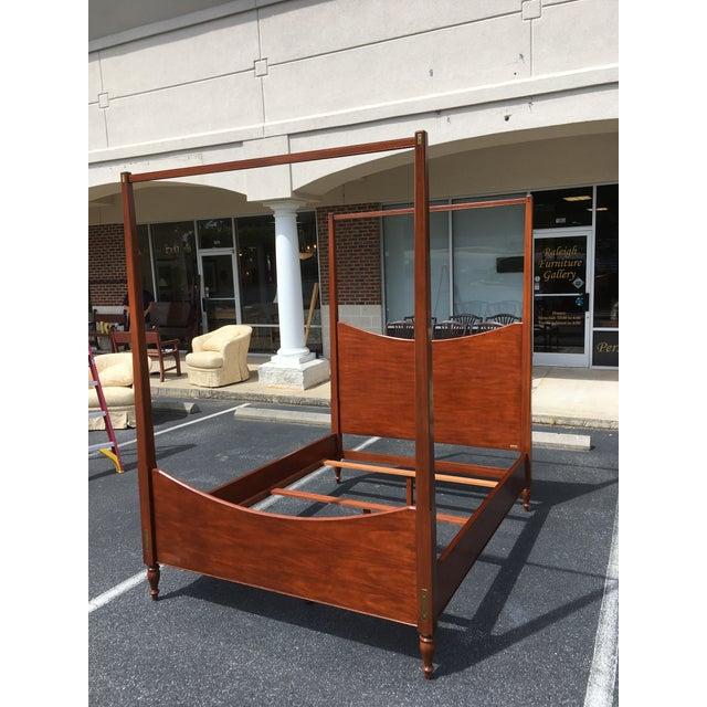 Ralph Lauren Queen Size Poster Bed With Canopy For Sale In Raleigh - Image 6 of 10