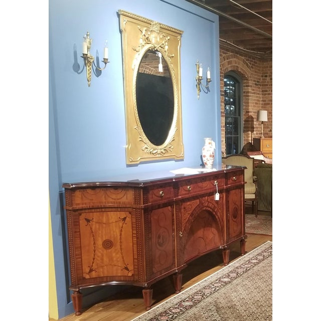 Absolutely stunning David Michael Italian made English sideboard from the Winston Churchill Suite of the Waldorf Astoria...