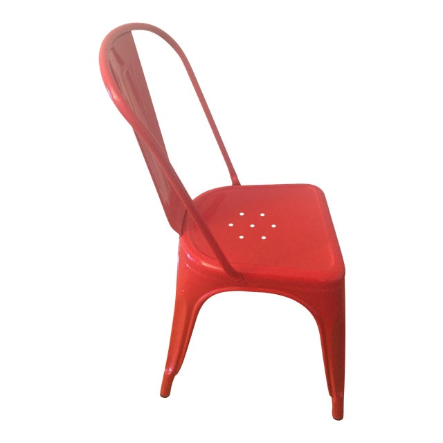 set of five 5 tolix marais chair chairish