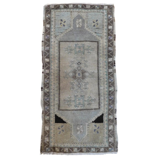 "Turkish Oushak Ushak Rug - 1'8"" X 3'2"" - Image 1 of 4"