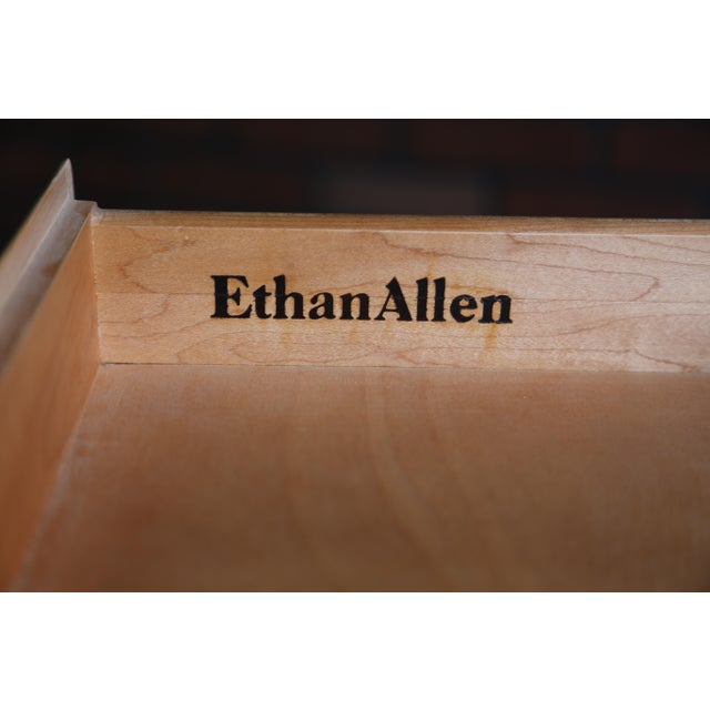 Ethan Allen 1990s French Country Ethan Allen Console For Sale - Image 4 of 7
